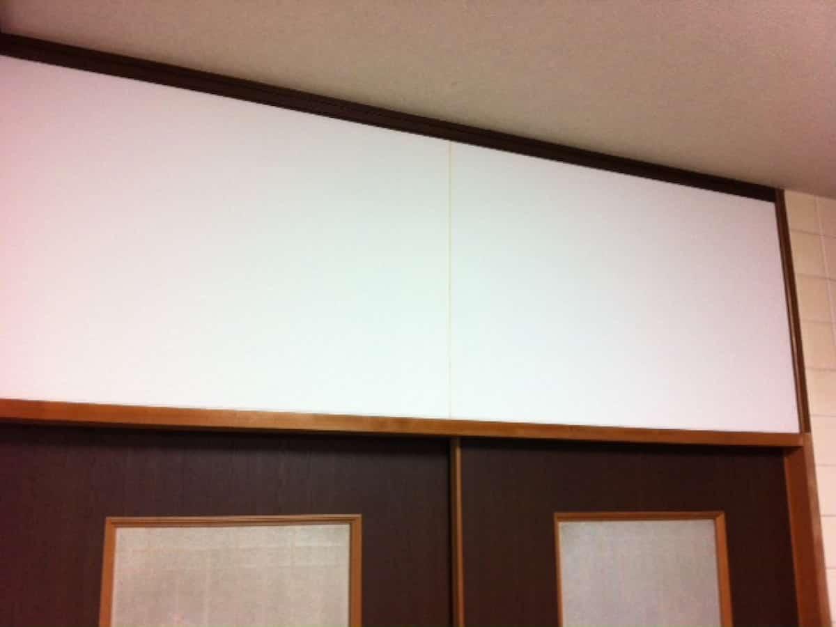 上下の端をカットした壁紙