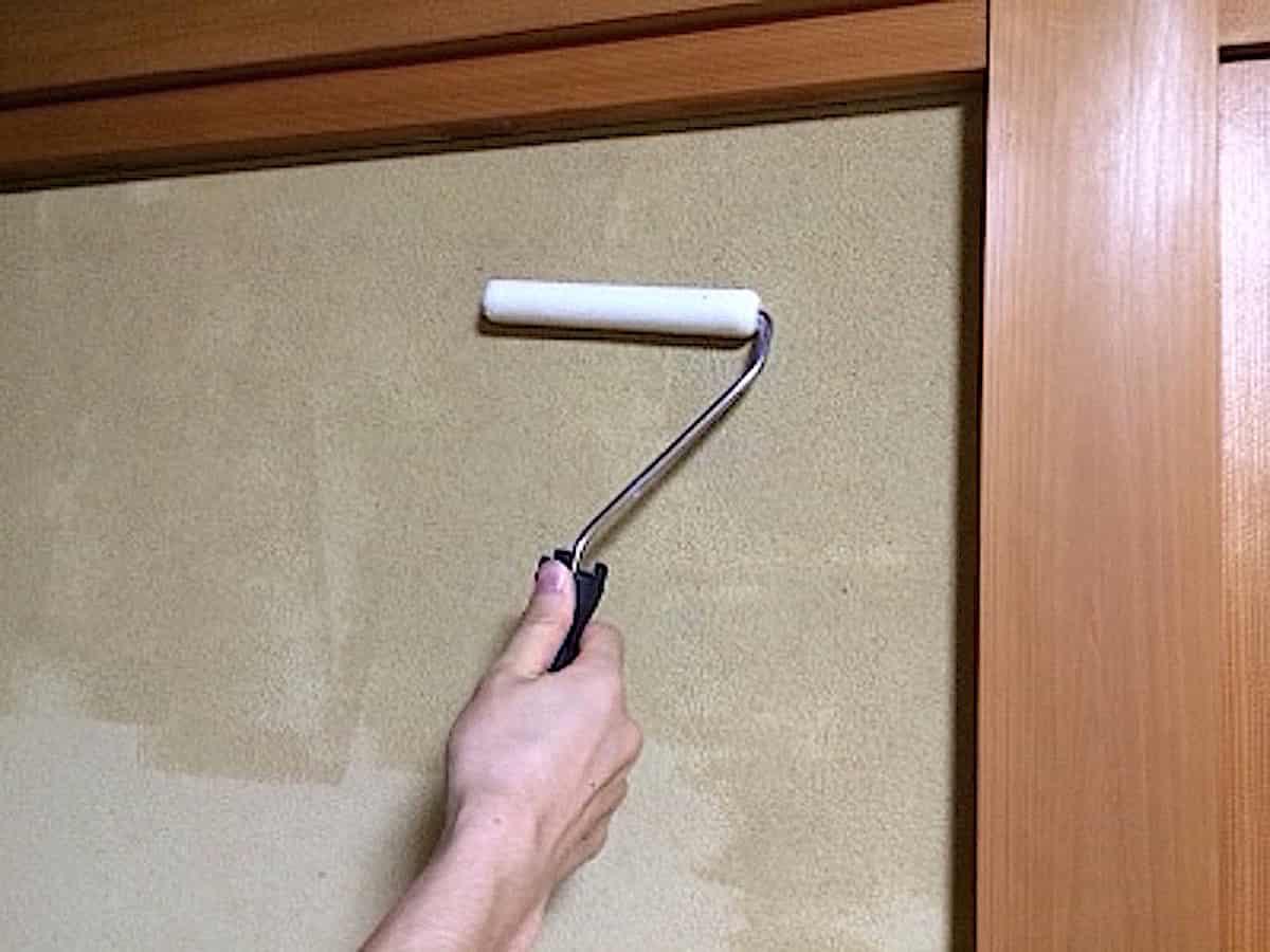 シーアップを砂壁・繊維壁・土壁に塗る