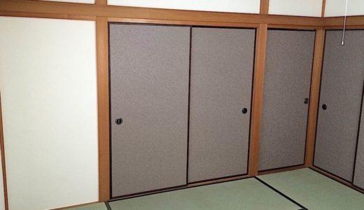 引き戸(戸襖)を自分で張り替える方法|壁紙や襖紙をドアに貼るだけの簡単DIY!