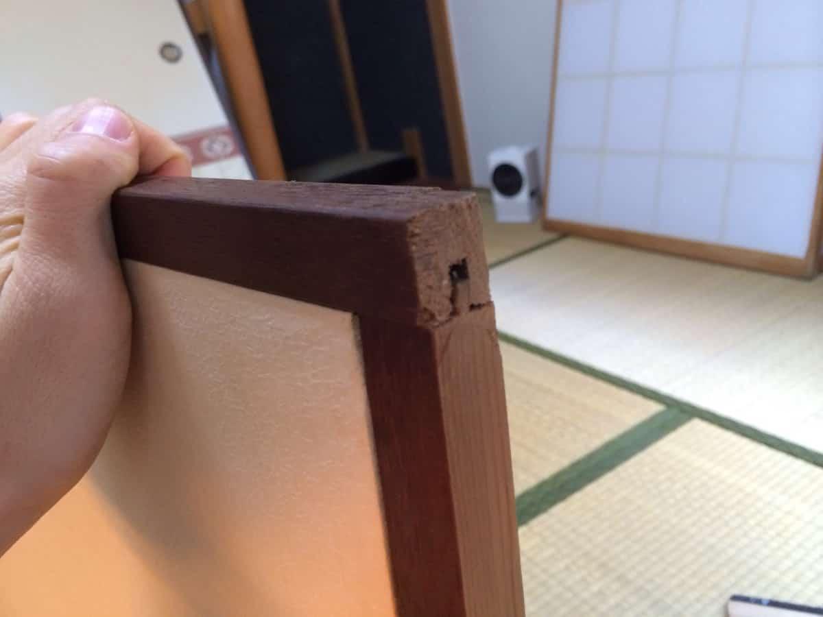 ふすまの木枠
