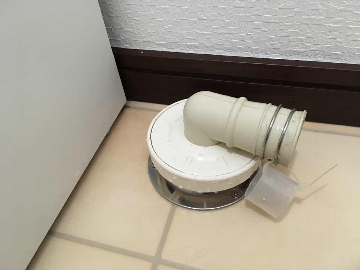 3年半使用したカクダイの洗濯機用排水トラップ