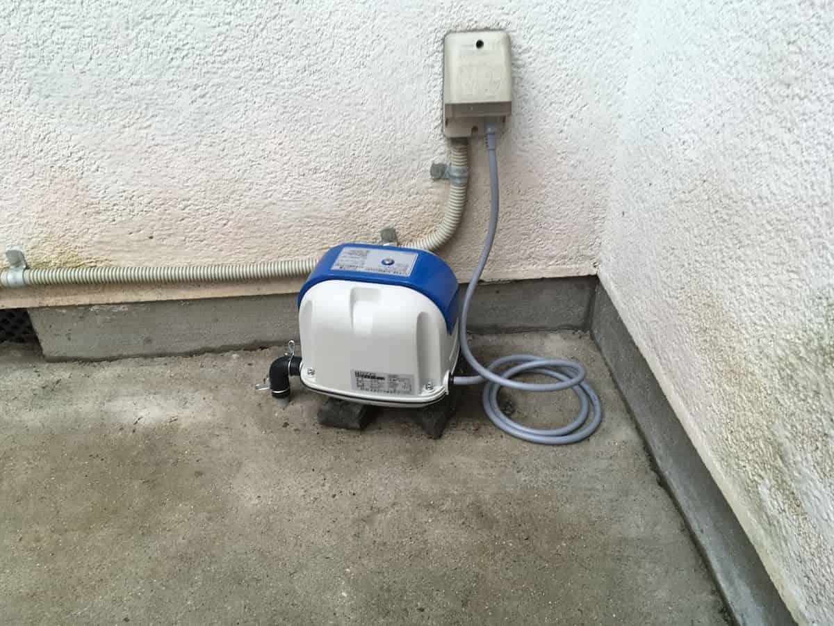浄化槽のブロアー(ポンプ・モーター)