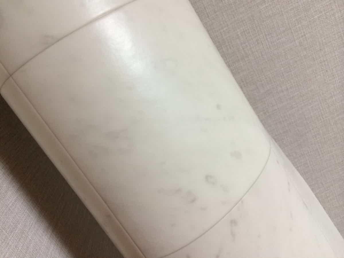 購入した大理石柄のクッションフロア(CF・床シート)