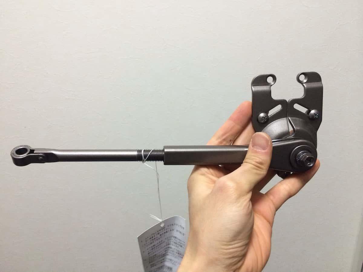 リョービ取替用ドアクローザーのサッシ側のアーム部品