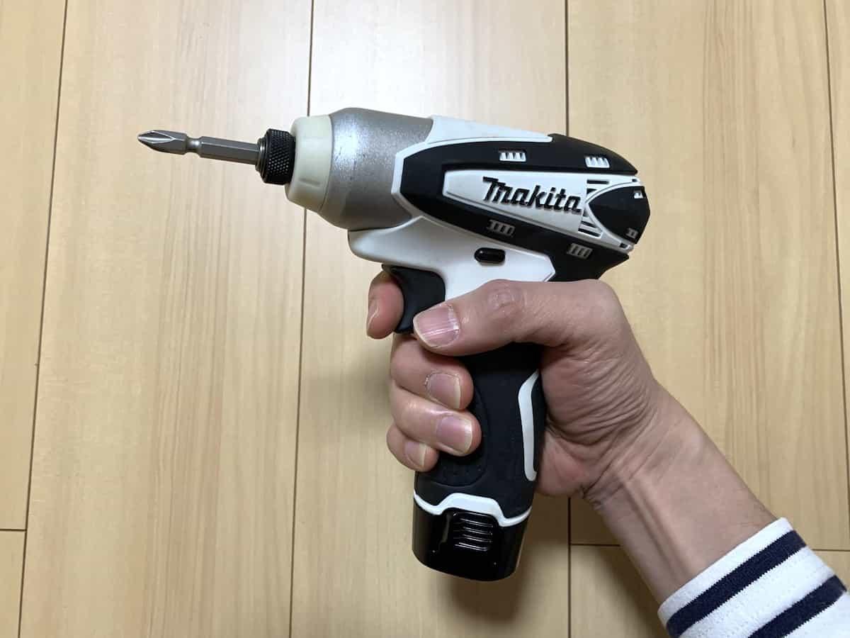 マキタ10.8VインパクトドライバーTD090D