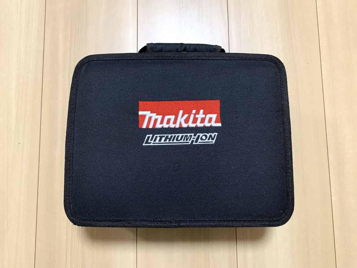 マキタの10.8VインパクトドライバーTD090DWSPWのソフトケース