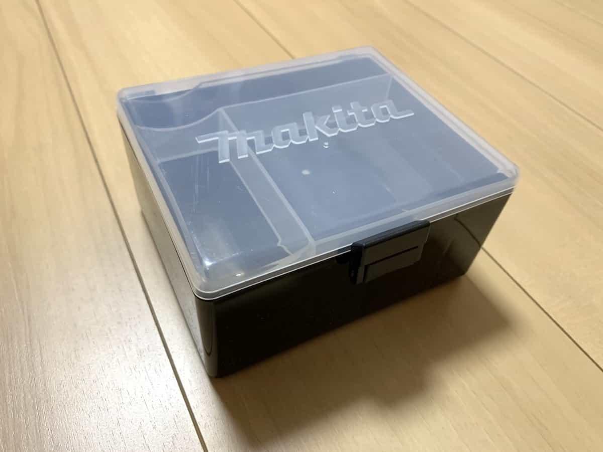 マキタの10.8V震動ドライバドリルHP330D(振動ドライバー)の小物ケース