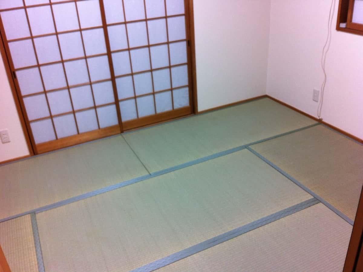 2回目の畳の表替えしたあとの様子