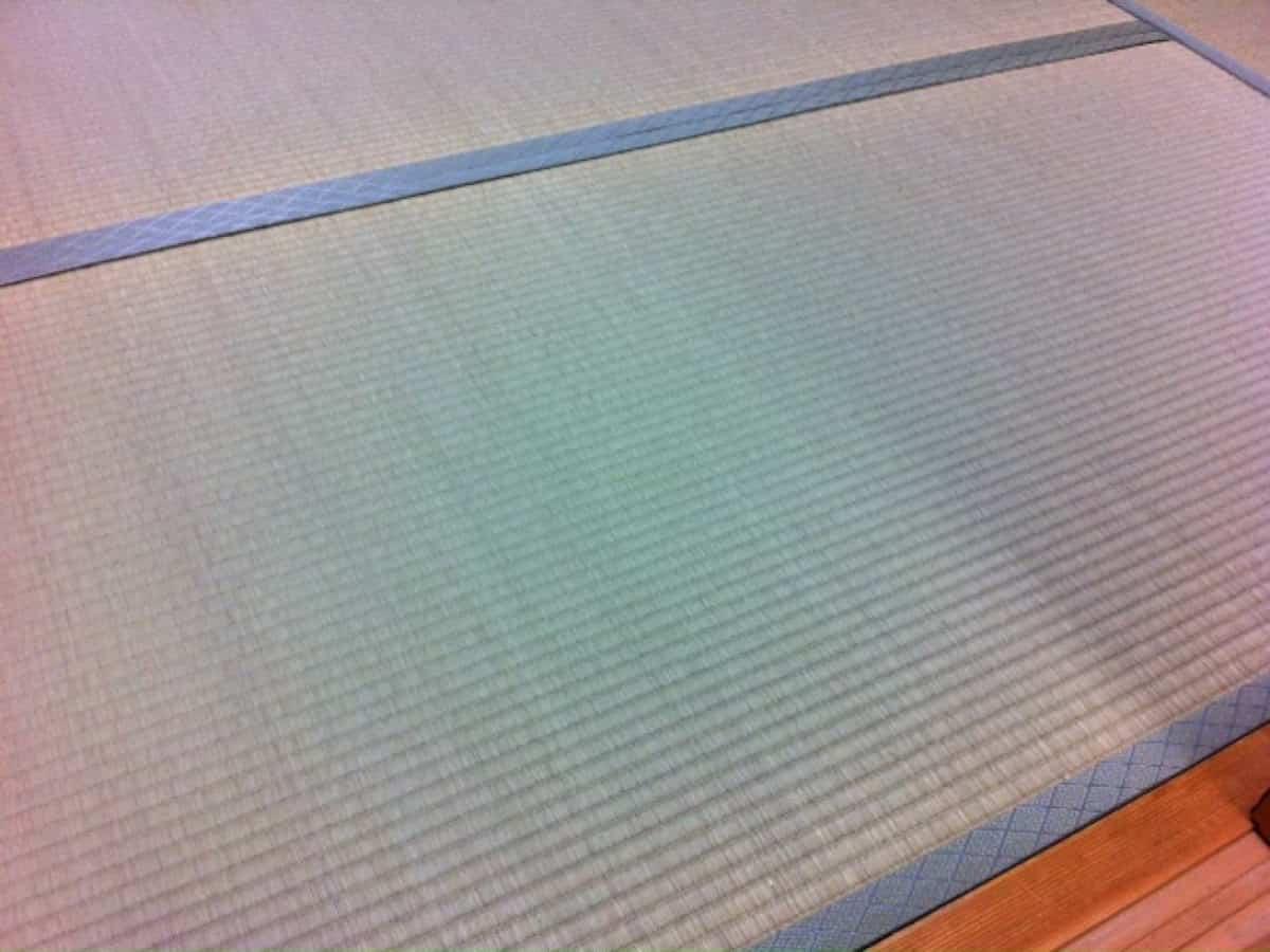 畳表替え後の畳