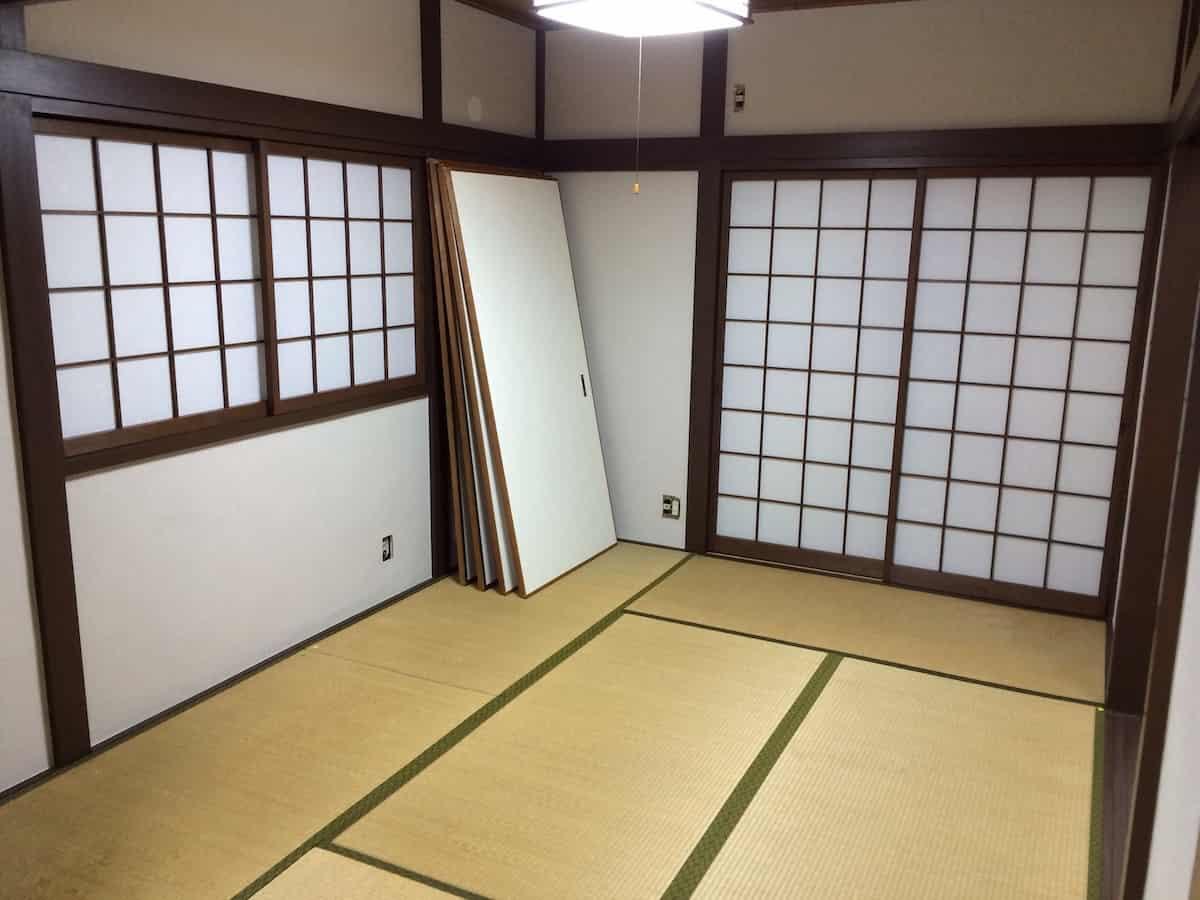 3回目の畳表替え前の和室