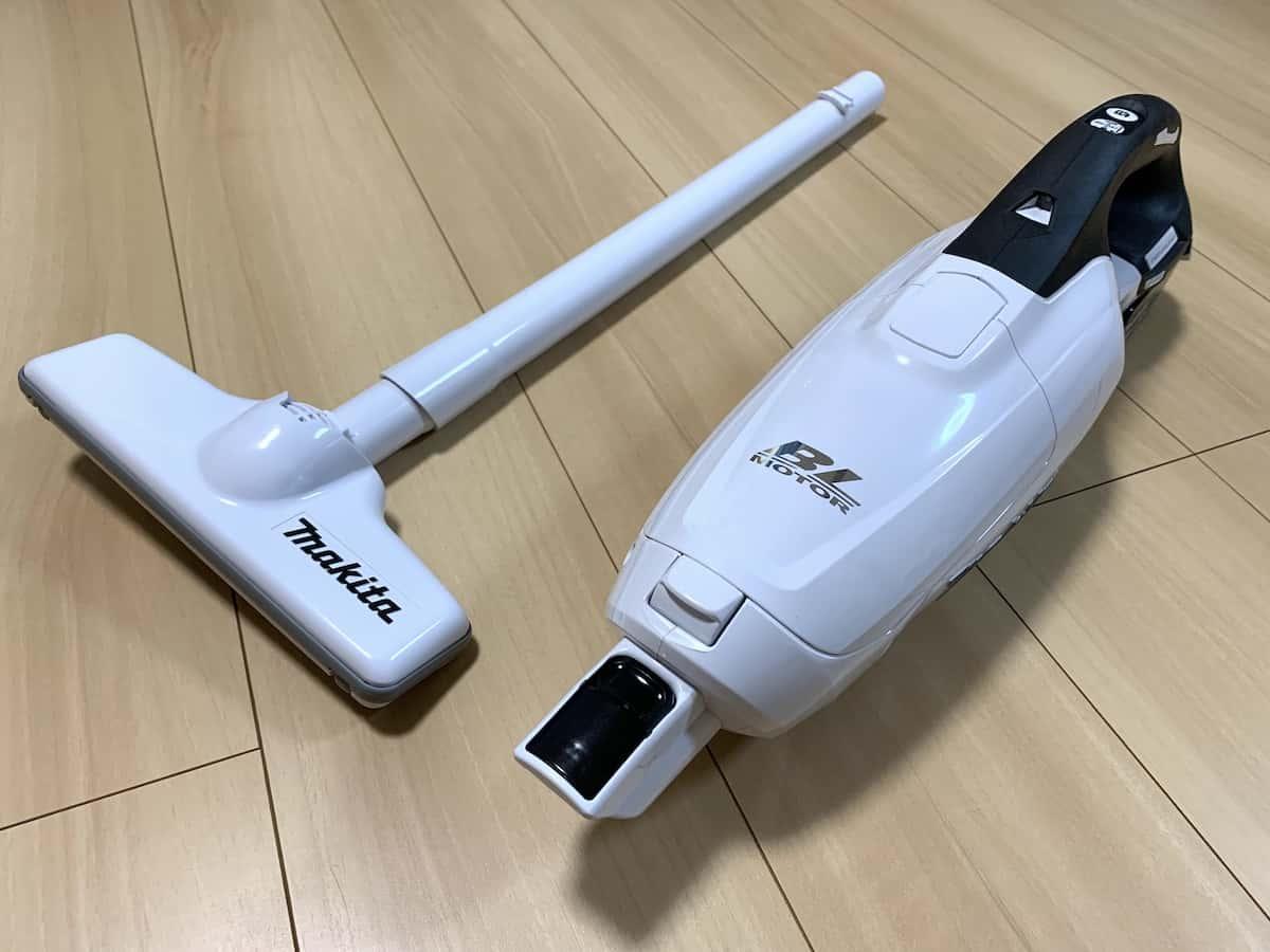 マキタコードレス掃除機CL282FDRFW