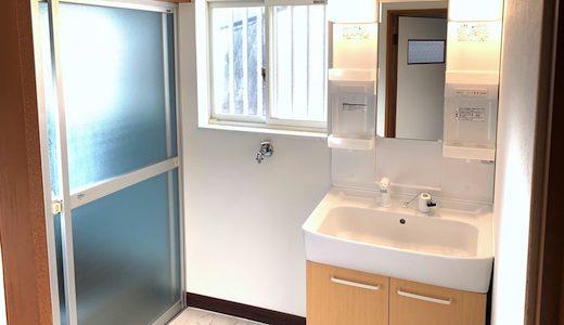 洗面所のDIYリフォームのビフォーアフター事例集